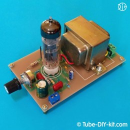 Electronic DIY kit: Class A low frequency amplifier with 3W output power