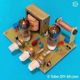 Electronic DIY kit: Tube Regenerative AM radio 0-V-1
