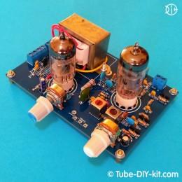 Electronic DIY kit: Tube AM tuned RF receiver 1-V-1