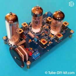 Electronic DIY kit: Tube Radio-frequency unit AM superheterodyne receiver