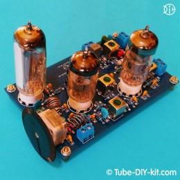 Electronic DIY kit: Tube Radio-frequency unit FM superheterodyne receiver