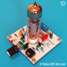 Electronic DIY kit: AM modulator and low power transmitter on vacuum tube